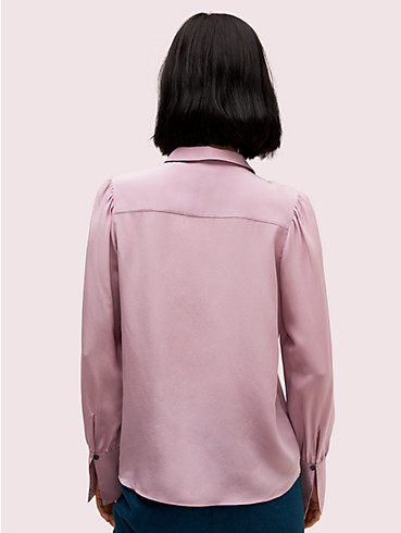 silk point collar blouse, , rr_productgrid