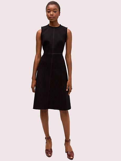sleeveless tweed dress by kate spade new york