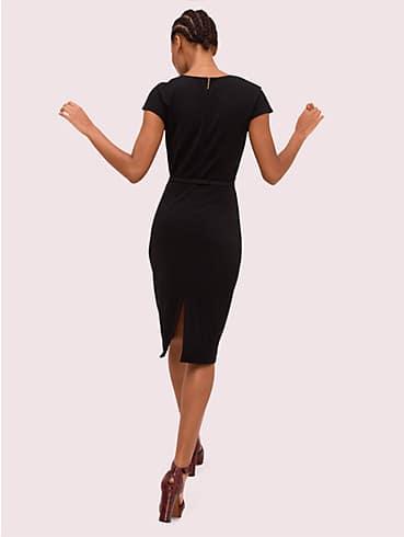 Kleid aus mattem Krepp mit Rüschendetail, , rr_productgrid