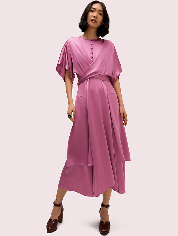 satin tie dress, , rr_large