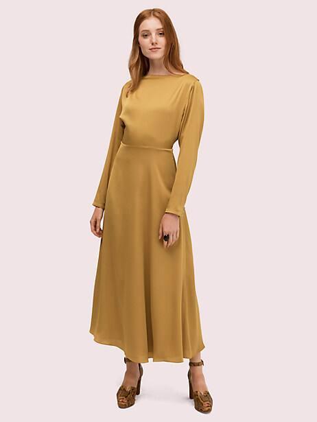 twist back midi dress by kate spade new york
