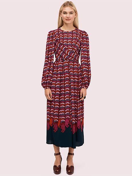 rawr crepe midi dress by kate spade new york