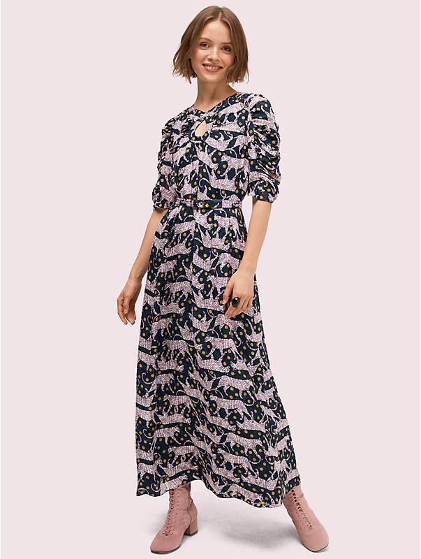 panther dot midi dress, , rr_large