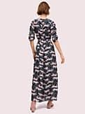 panther dot midi dress, , s7productThumbnail
