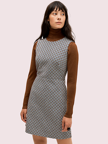 pop houndstooth dress by kate spade new york