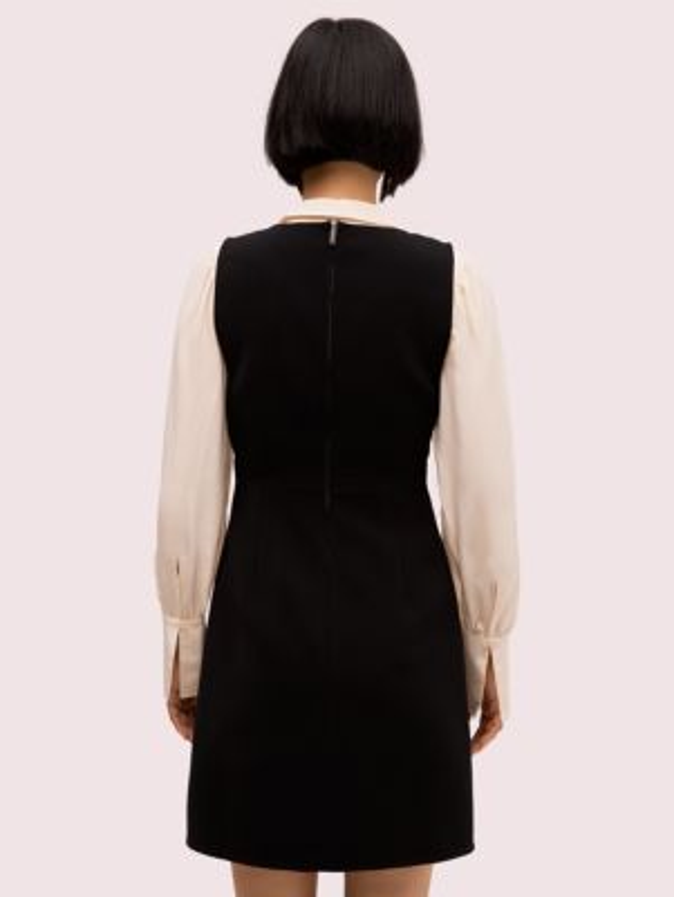Woven pinafore dress   Kate Spade New York