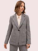 pop houndstooth blazer, , s7productThumbnail