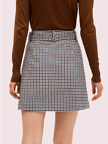 pop houndstooth mini skirt, , rr_productgrid