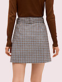 pop houndstooth mini skirt, , s7productThumbnail