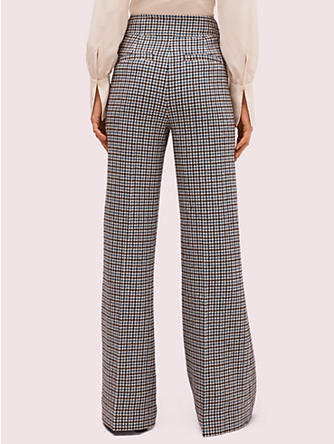 pop houndstooth flare pant, , rr_productgrid