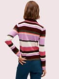 fine stripe polo sweater, , s7productThumbnail