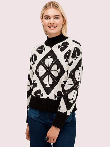 spade geo sweater by kate spade new york