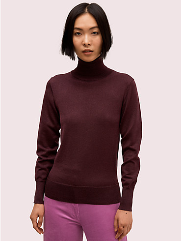metallic ribbed turtleneck, , rr_productgrid