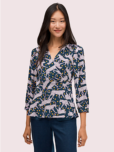 panther dot wrap top, , rr_productgrid