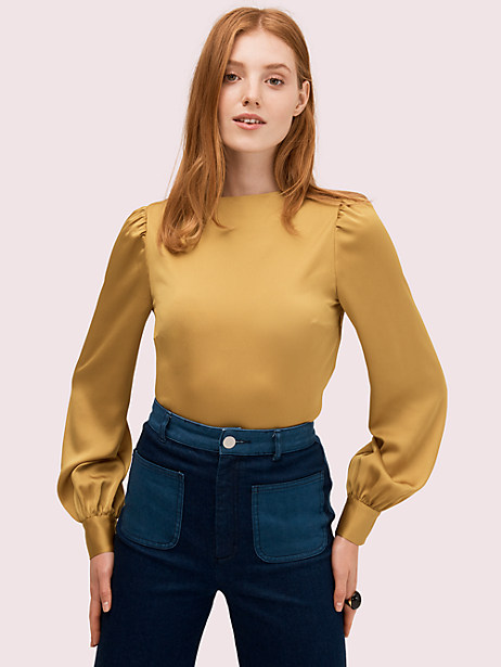 twist back top by kate spade new york