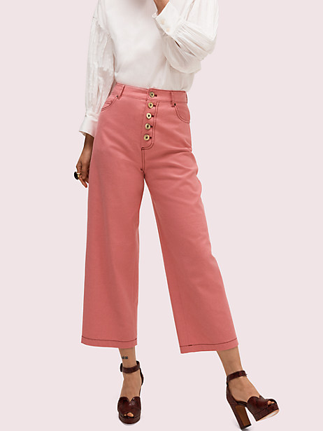 heather basket weave pant by kate spade new york