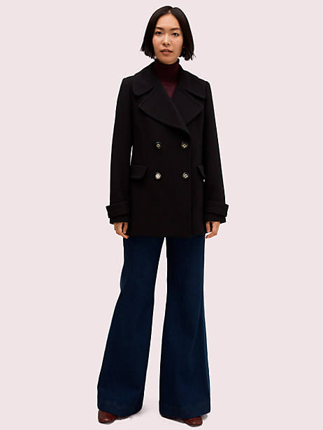 spade button peacoat by kate spade new york