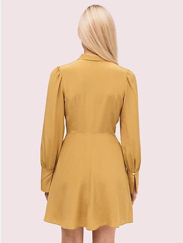 silk point collar shirtdress, , rr_productgrid