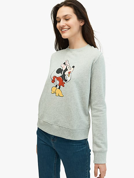 kate spade new york x minnie mouse sweatshirt by kate spade new york