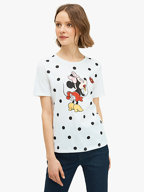kate spade new york x minnie mouse tee by kate spade new york