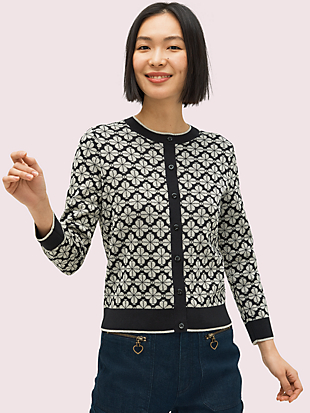 spade flower cardigan by kate spade new york non-hover view