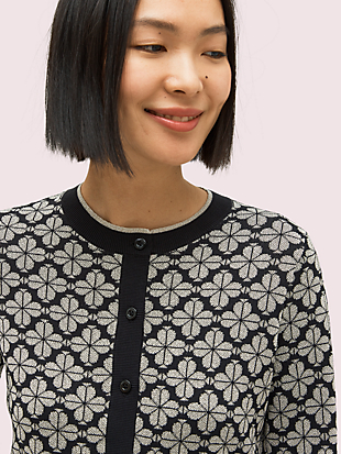 spade flower cardigan by kate spade new york hover view