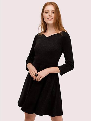 sparkle ponte dress, , rr_productgrid
