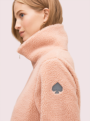 sherpa zip-up by kate spade new york hover view