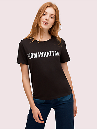 womanhattan tee by kate spade new york non-hover view