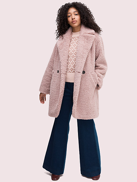 teddy coat by kate spade new york