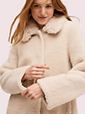 fur collar shearling coat, , s7productThumbnail