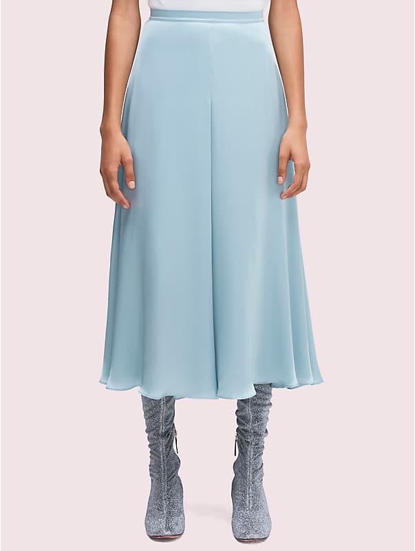 silk charmeuse midi skirt, , rr_large