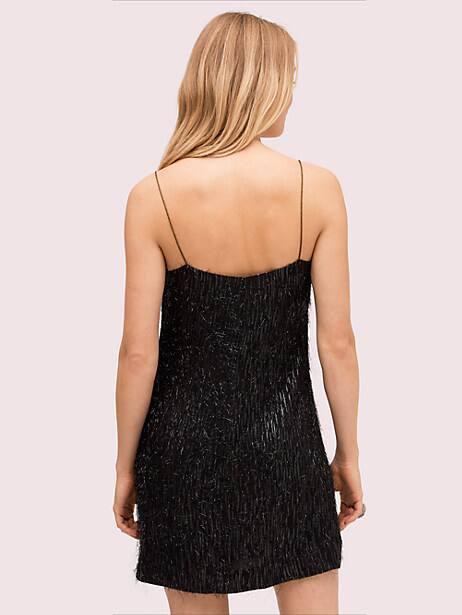 Lurex fringe dress   Kate Spade New York