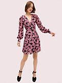 floral chiffon dress, , s7productThumbnail