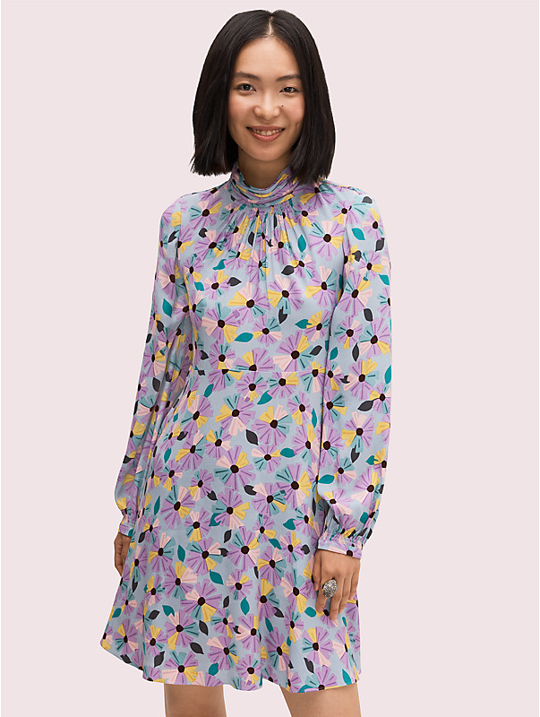 floral smocked dress, , rr_large