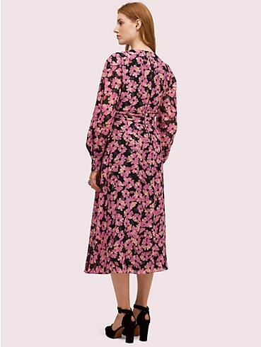 floral chiffon midi dress, , rr_productgrid