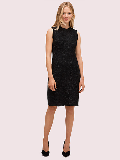 tinsel tweed dress by kate spade new york