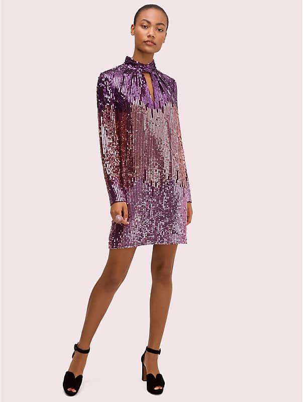 ombré sequin dress, , rr_large