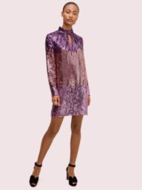 ombré sequin dress by kate spade new york