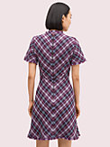 plaid tweed dress, , s7productThumbnail