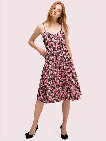 floral jacquard dress, , rr_productgrid