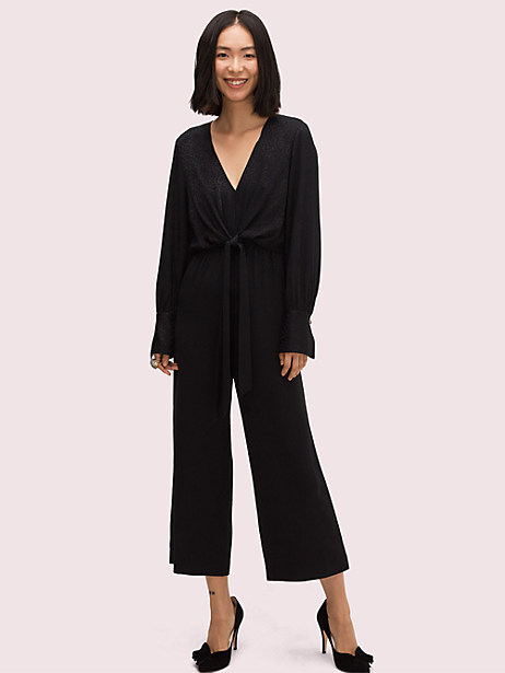 tie front jumpsuit by kate spade new york