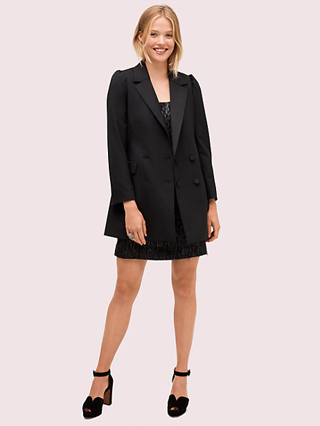 modern crepe blazer by kate spade new york