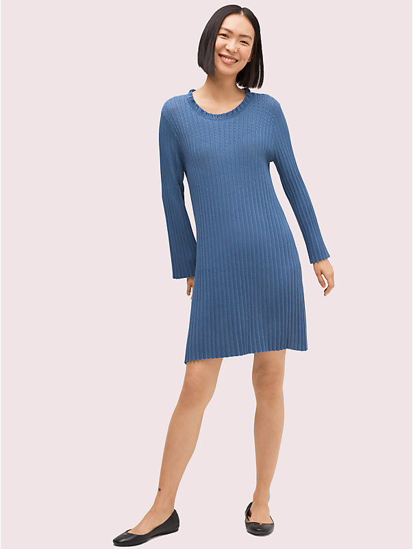 pointelle sweater dress, , rr_large