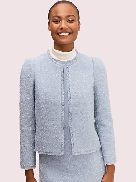 tinsel tweed jacket by kate spade new york