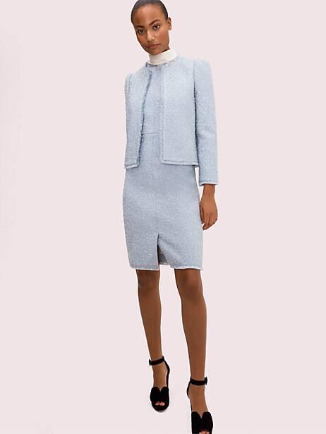 Tinsel tweed jacket | Kate Spade New York