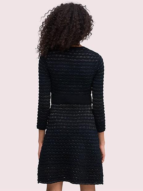 Scallop shine sweater dress   Kate Spade New York