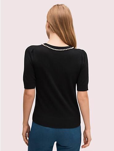 Pullover mit Perlen und Pavé, , rr_productgrid