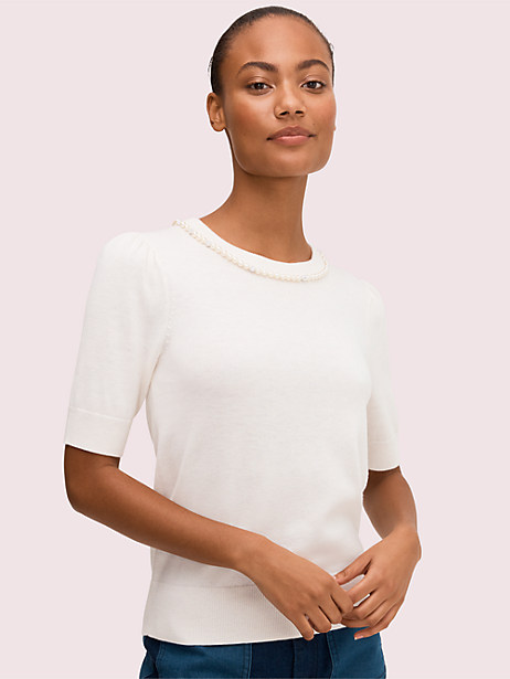 pearl pavé sweater by kate spade new york