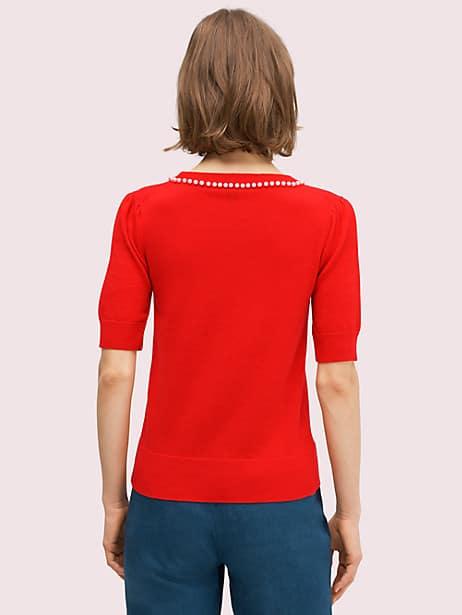 Pearl pavé sweater | Kate Spade New York